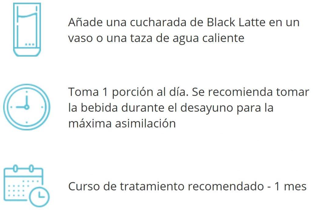 Blacklatte-instrucciones