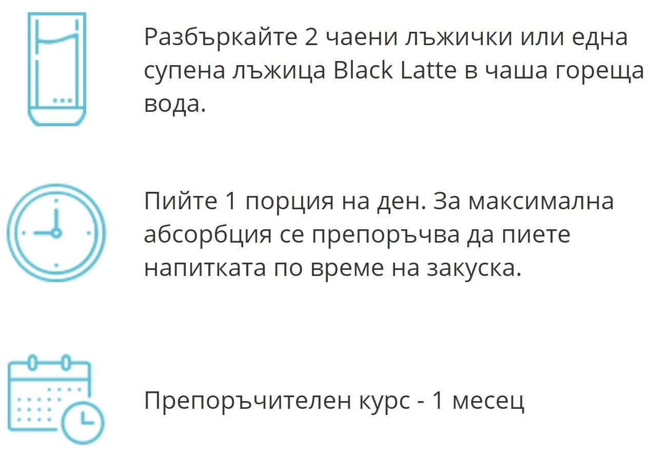 Black-latte-как-да-използвам