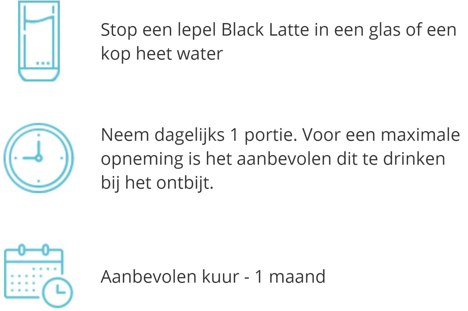 Blacklatte-hoe-te-gebruiken